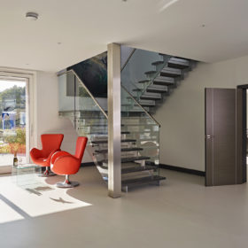 Living and meeting spaces